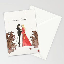 Twuuu Looove Stationery Cards