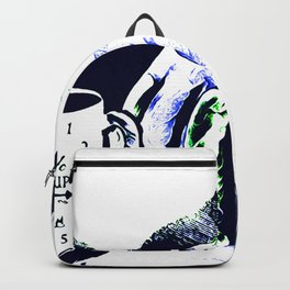 One Cup At A Time Is Quiet Divine Backpack