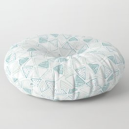 Triangular Pattern Floor Pillow