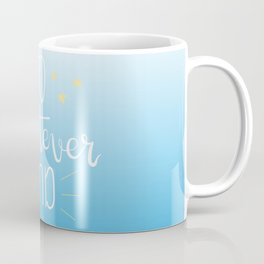 To Whatever End (Blue) Coffee Mug