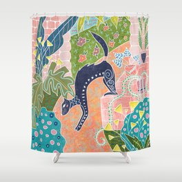 la belette Shower Curtain