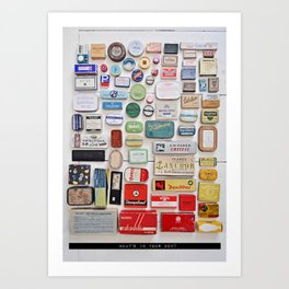 What´s in your box? Art Print