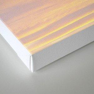 Blue Rose Yellow Sunrise Canvas Print