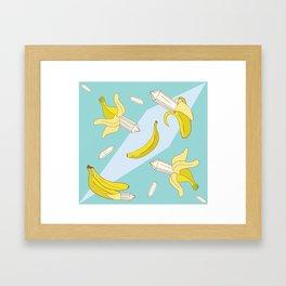 jujus gone bananas Framed Art Print
