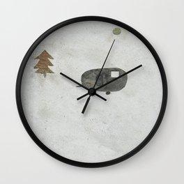 Kamping Wall Clock