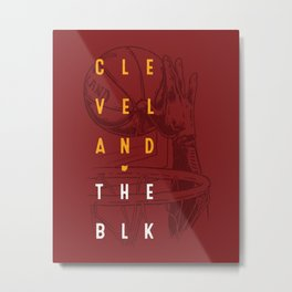 Cleveland - The Block Metal Print