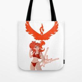 Team Valor Girl Tote Bag
