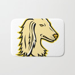 Saluki or Persian Greyhound Mascot Bath Mat