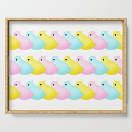 Peeps Pattern Serving Tray