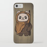 ewok iPhone & iPod Cases featuring Cartoon Ewok by Team Rapscallion
