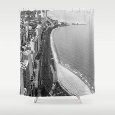 Lakeshore Drive Shower Curtain
