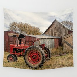Down on the Farm Wall Tapestry