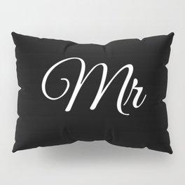 Mr (Black) Pillow Sham