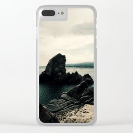 The Rock, Italy Clear iPhone Case