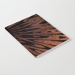 Native Tapestry in Burnt Umber Notebook