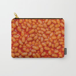 Baked Beans in Red Tomato Sauce Food Pattern  Carry-All Pouch