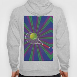 Tennis Ball and Racket Hoody