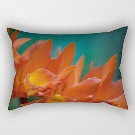 ORANGE PETALS Rectangular Pillow