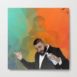 Dj khaled and the keys to success Metal Print