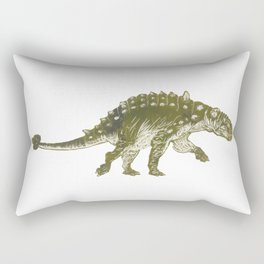 Euoplocephalus dinosaur Rectangular Pillow