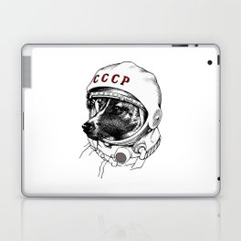 laika, space traveler Laptop & iPad Skin