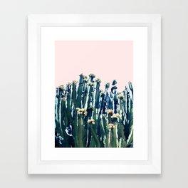 Cactus V5 #society6 #decor #buyart Framed Art Print