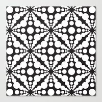 dot Canvas Prints featuring DOT by Vadeco