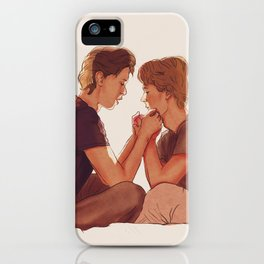 Even + Isak : Minutt for Minutt iPhone Case