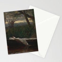 Walter Crane - The Lady of Shalott Stationery Cards