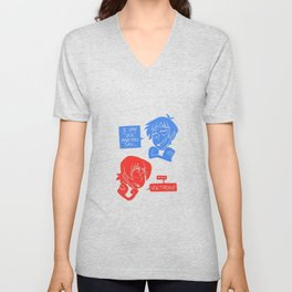 What you say Unisex V-Neck