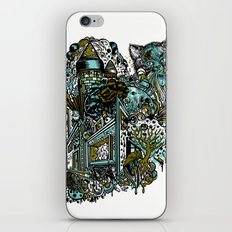 The Castle Of Doom and Sugar iPhone & iPod Skin