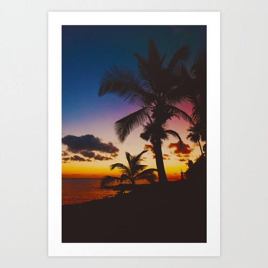 Palm Spring Art Print