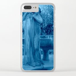 Blue Aurora By Will H. Low Clear iPhone Case
