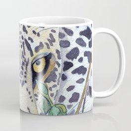 Never Resting - Leopard by Maureen Donovan Coffee Mug
