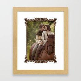 Stucky (Riding Pillion) Framed Art Print