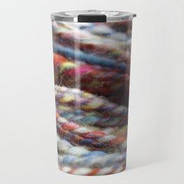 Handspun Yarn / Lots of colors Travel Mug