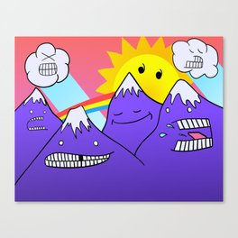 Mountain Pals Canvas Print
