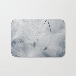 Milkweed abstract Bath Mat
