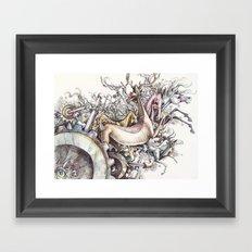 Twisted Menagerie Framed Art Print