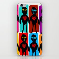 All Different but all Equal Street Art Graffiti Pop iPhone Skin