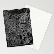 Los Angeles, California, Circa 1908. Stationery Cards