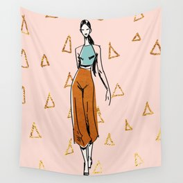 Fashion Boss Wall Tapestry