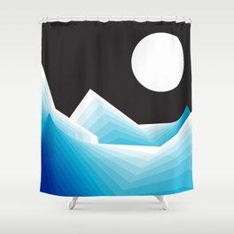 January Moon Shower Curtain