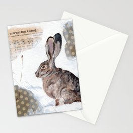 There's a Great Day Coming - Brown Rabbit Stationery Cards