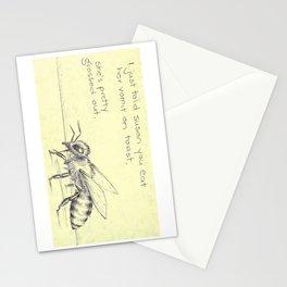 Bee Vomit Stationery Cards