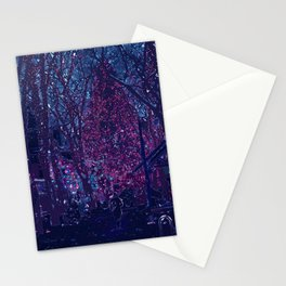 Late Winter Nights Stationery Cards