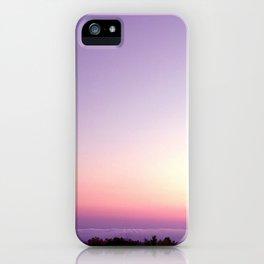 Purple Sunset iPhone Case