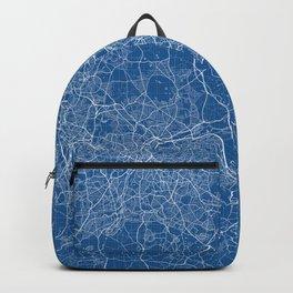 Birmingham City Map of England - Blueprint Backpack
