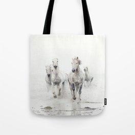 Ghost Riders - Horse Art Tote Bag