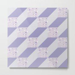 CubesII/ Metal Print
